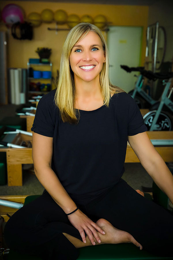 Rebecca Manske Asheville pilates instruction